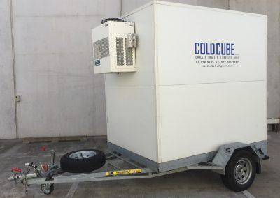 Medium Cold Cube Trailer