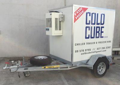 Small Cold Cube Trailer
